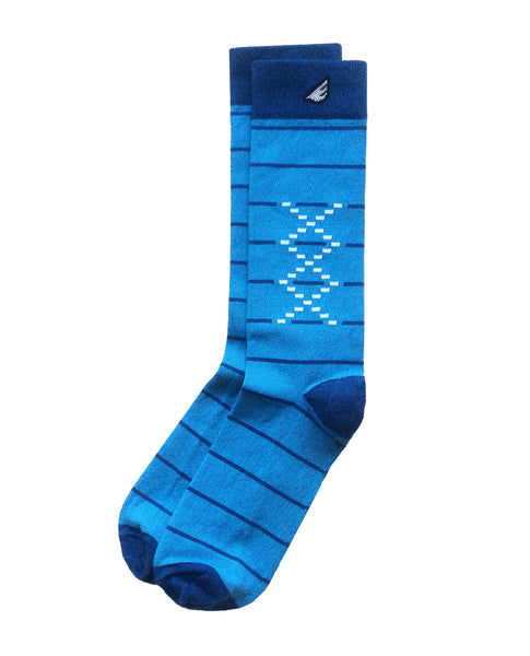 Boldfoot Tres Equis Sock in Sky Blue