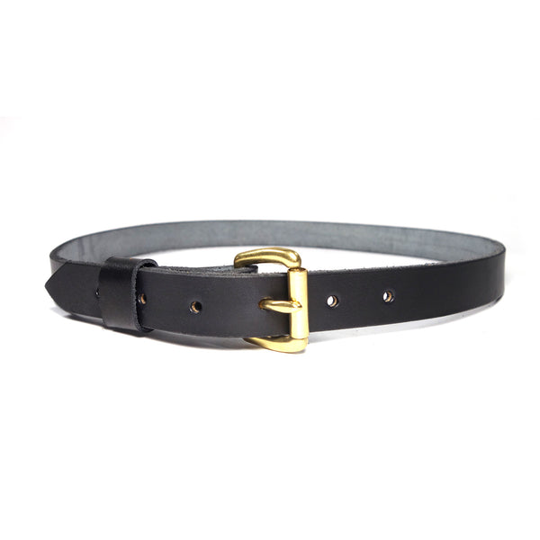 "Red Clouds Collective Women's Classic 1"" Wide Leather Belt in Black"