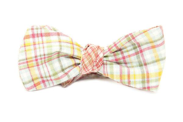 QP Collections Reversible Bow Tie in Two Plaid