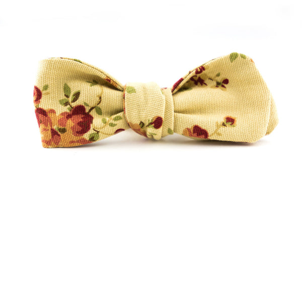 QP Collections Bow Tie in Floral