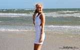 WHITE RUNAWAY DRESS