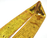 updated sequin gold strap that will now be used for the runaway dress