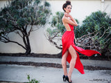 RED SIREN GOWN
