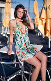 TROPICAL BURST DRESS