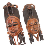 One Senegalise Mahogany Monkey Guro Mask Delivery In About 8 Days