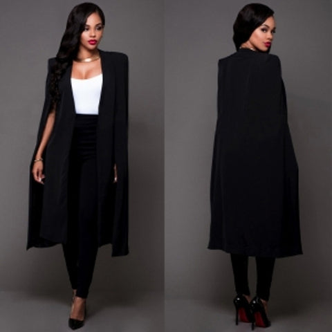 Occassional Black Long Blazer, Delivery In 15 Days