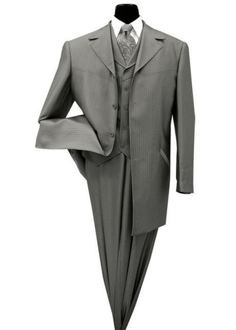 3 Pc Men Shark Skin Look Church Suit.