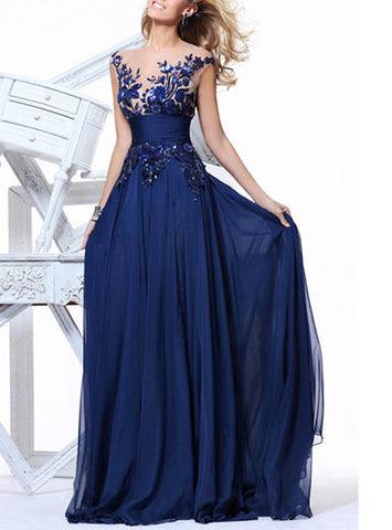 Formal Maxi Evening Dress, Delivery In About 18 Days