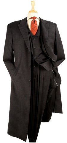 4 PC, Long Coat, Men 3 PC Wool Suit Combo. 10% Off On All Of Our Products At Checkout.
