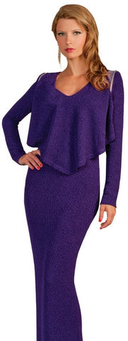 Church Or Professional Dress Removable Sleeves Style : ATTK-5050	Color.