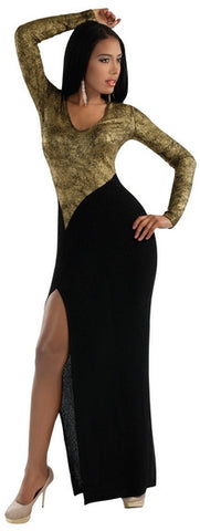 1PC Stretch Jersey Style : Attk-5053	Color : Black/Gold