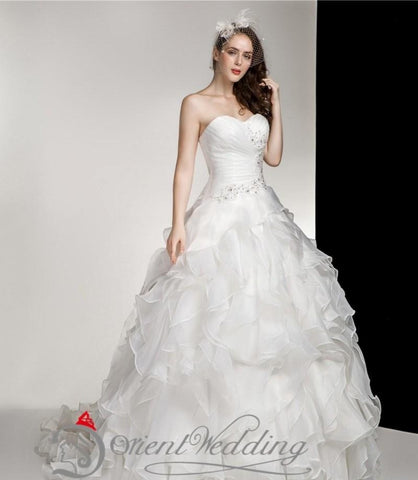 Ball Formal Wedding Dress