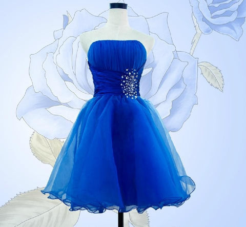 Trendy Short Bridesmaid Formal Dress.