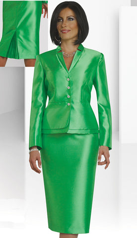2pc  Dress,  By Chancelle. Apple Green.