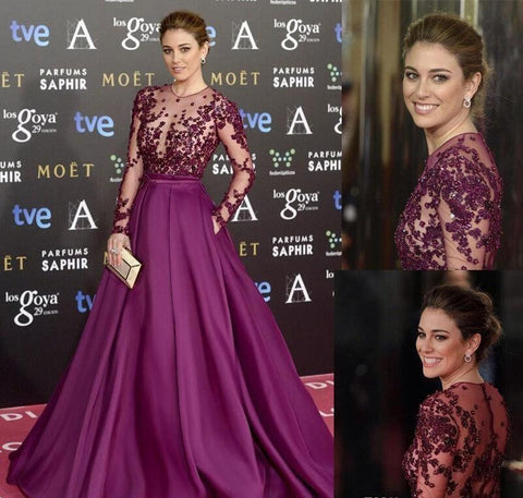 Zuhair Murad Like Burgundy Long Evening Dress,  20% Off By Using Discount Code.