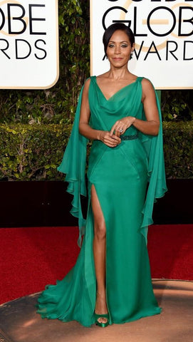 Jada Koren Pinkett Red Carpet Celebrity Formal Dress, Delivery In About 20 Days.