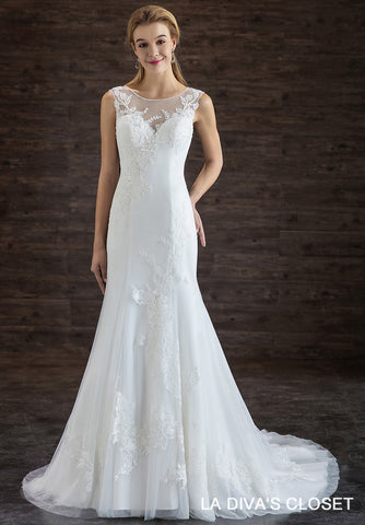Formal Chic Mermaid Wedding Dress, Delivery In About 23 Days.