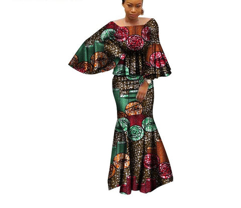 African Fashion Kanga Clothing Delivery In About 18 Days