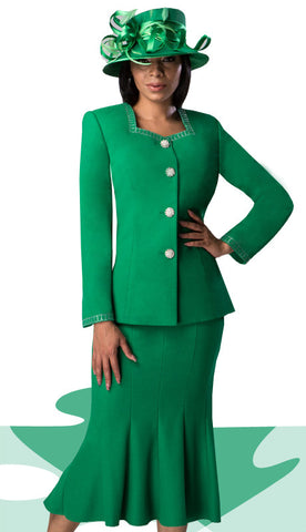Woman Church Suit
