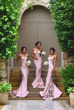 2016  New Designer Pink Sexy Column Bridesmaid Dress, Delivery In About 13 Days.