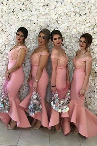 2016 New Arabic Sweetheart Off Shoulders Bridesmaid Dress, Delivery In About 15 Days