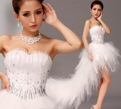 Princess White Wedding Dress