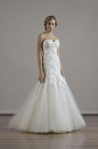 Liancarlo Like New Formal Wedding Dress.