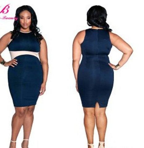 Plus Size Women Party Dress, Sizes - L To 3XL