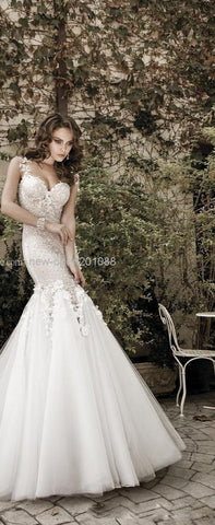 New Luxury Galia Lahav Like Lace Sexy See Through Wedding Gown