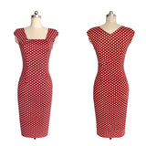 New Fashion Houndstooth Plaid Short Sleeve Women Bodycon Dress. Delivery In About 20 Days
