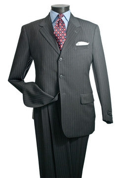 CLASSIC PINSTRIPES MEN BUSINESS SUIT. 10% Off Your Entire Order At Checkout.