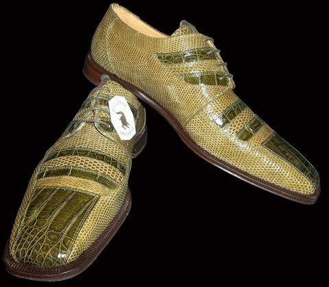 Crocodile and Lizard Leather Shoes. 10% Off Your Entire Order And Free Shipping.