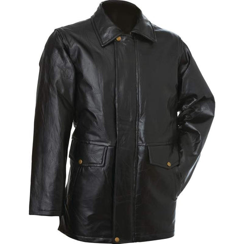 Giovanni Navarre® Italian Stone™ Design Genuine Leather Jacket
