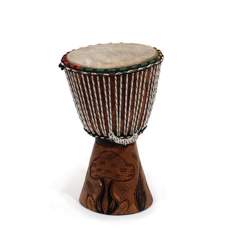 "Real African D'Jembe Drum: Small 10-12"", Delivery In About 8 Days."