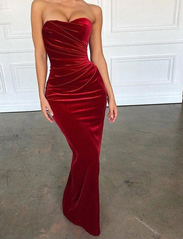 Velvet Bodycon Sexy Party Dress Delivery In About 18 Days