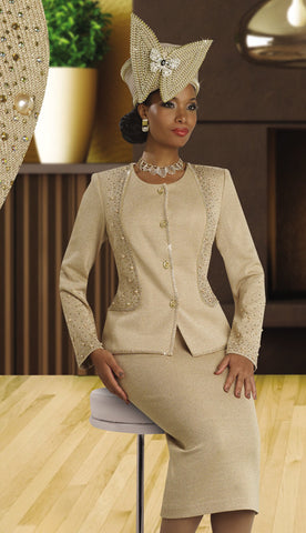 Donna Vinci Knits Suit For Church Fall And Holiday 2015-2