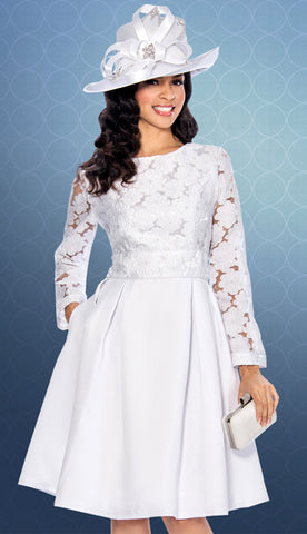 Lace Top White Church Dress Delivery In About 12 Days