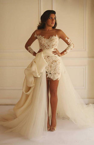 Madison Yeya Like Short Lace Wedding Dress Delivery In About 25 Days