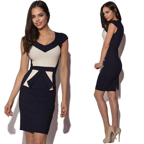 Celebrity Style Sexy Women's Short Sleeve Slim Dress, 10% Off And Free Shipping