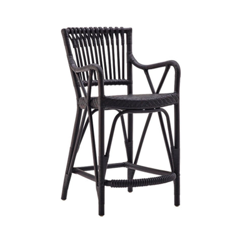 Sika Design Blues Rattan Counter Stool