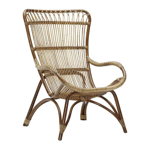Sika Design Monet Rattan High Back Chair