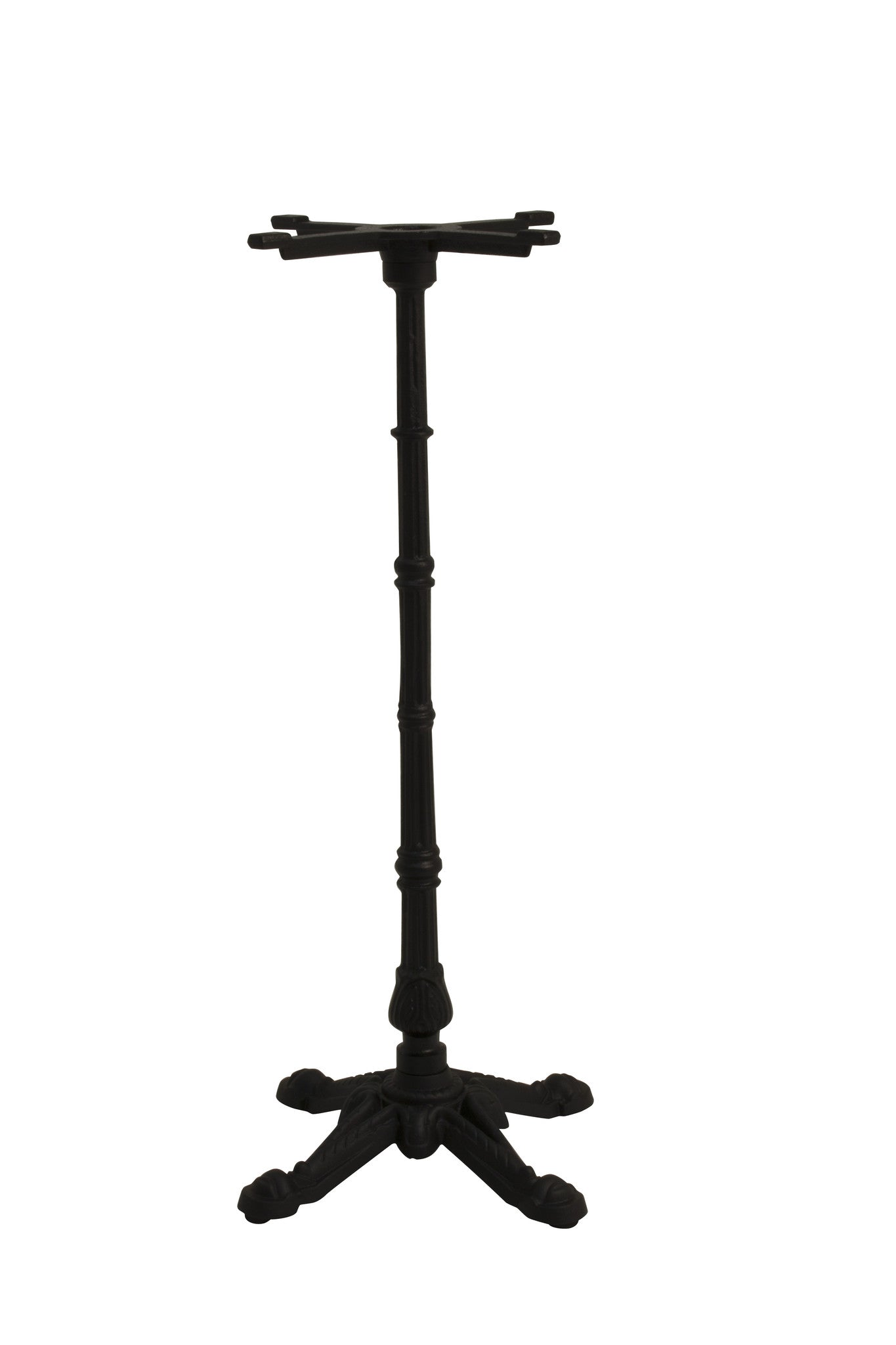 Sika Design 4 Prong Cast Iron Bistro Bar Height Table Base