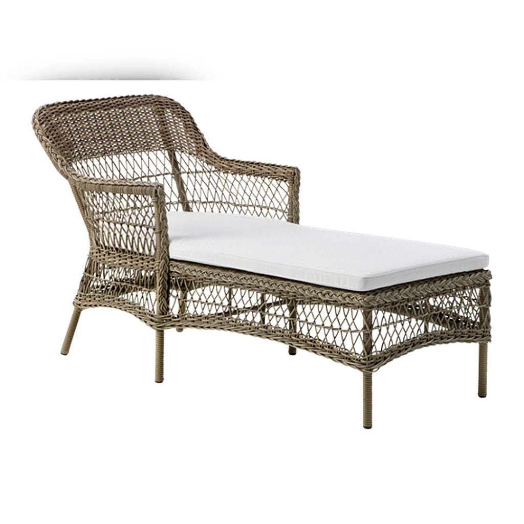 sika design olivia chaise lounge - Chaise Design Metal