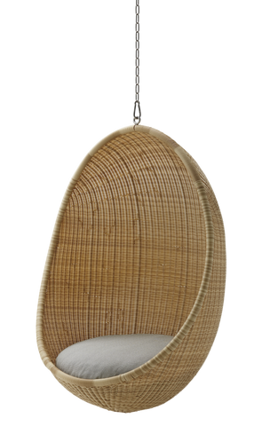 Sika Design Nanna Ditzel Hanging Egg Chair Exterior