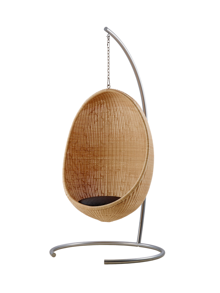 Sika design stand for hanging indoor egg chair sika for Ez hang chairs instructions
