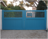 Country Style - Wood Driveway Gates