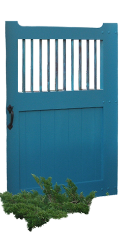 Country Style - Wooden Side Gate