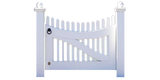 Traditional Wood Picket Gate