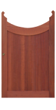 Saloon Style - Inverse Archtop Wood Gate