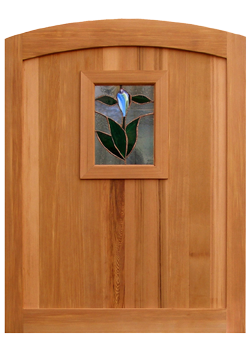 Hummingbird Wood Gate